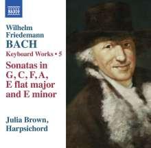 Wilhelm Friedemann Bach (1710-1784): Cembalowerke Vol.5, CD