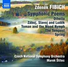 Zdenek Fibich (1850-1900): Orchesterwerke Vol.3, CD