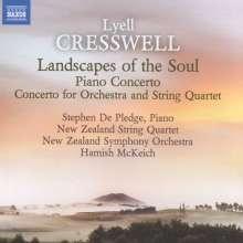 Lyell Cresswell (geb. 1944): Klavierkonzert, CD