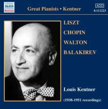 Louis Kentner, Klavier, CD