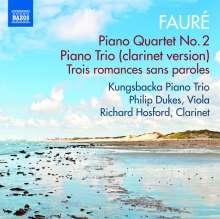 Gabriel Faure (1845-1924): Klavierquartett Nr.2 op.45, CD