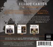Elliott Carter (1908-2012): Streichquartette Nr.1-5, 3 CDs und 1 DVD