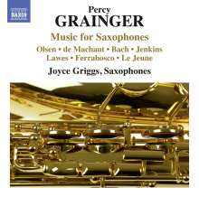 Percy Grainger (1882-1961): Arrangements für Saxophone, CD