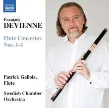 Francois Devienne (1759-1803): Flötenkonzerte Nr.1-4, CD