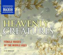 Heavenly Creatures - Female Voices of the Middle Ages, 3 CDs