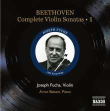 Ludwig van Beethoven (1770-1827): Sämtliche Violinsonaten Vol.1, CD