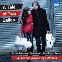 Julian & Jiaxin Lloyd Webber - A Tale Of Two Cellos, CD