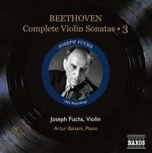 Ludwig van Beethoven (1770-1827): Sämtliche Violinsonaten Vol.3, CD