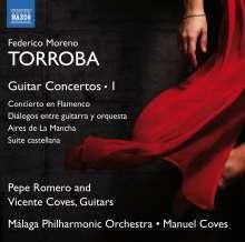 Federico Moreno Torroba (1891-1982): Gitarrenkonzerte Vol.1, CD
