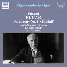 Edward Elgar (1857-1934): Elgar conducts Elgar, CD