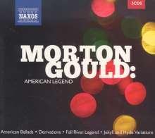 "Morton Gould (1913-1996): Orchesterwerke ""American Legend"", 3 CDs"