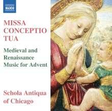Pierre de la Rue (1460-1518): Missa Conceptio tua, CD