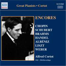 Alfred Cortot - Encores, CD