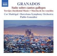 Enrique Granados (1867-1916): Suite sobre cantos gallegos, CD