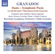 Enrique Granados (1867-1916): Dante (Symphonische Dichtung), CD