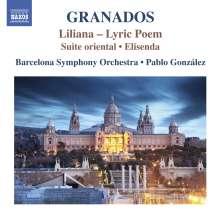Enrique Granados (1867-1916): Liliana (Lyrische Dichtung), CD