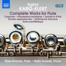 Sigfrid Karg-Elert (1877-1933): Sämtliche Werke mit Flöte, 2 CDs