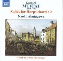 Gottlieb Muffat (1690-1770): Cambalosuiten Vol.2, CD