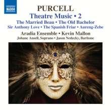 Henry Purcell (1659-1695): Musik für das Theater Vol.2, CD