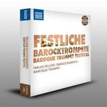 Festliche Barocktrompete, 3 CDs