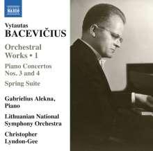 Vytautas Bacevicius (1905-1970): Orchesterwerke Vol.1, CD