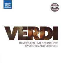 Giuseppe Verdi (1813-1901): Ouvertüren & Opernchöre, 3 CDs