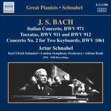 Johann Sebastian Bach (1685-1750): Klavierkonzert BWV 1061, CD