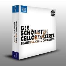 Die schönsten Cellokonzerte, 3 CDs