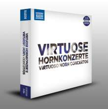 Virtuose Hornkonzerte, 3 CDs