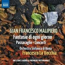 Gian Francesco Malipiero (1882-1974): Concerti 1931, CD
