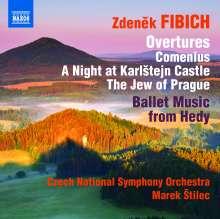 Zdenek Fibich (1850-1900): Orchesterwerke Vol.4, CD