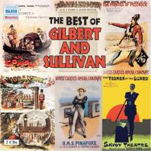 Arthur Sullivan (1842-1900): The Best of Gilbert & Sullivan, 2 CDs
