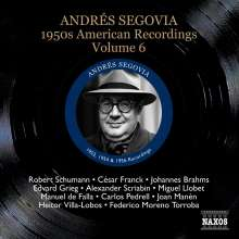 Andres Segovia - 1950s American Recordings Vol.6, CD