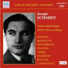 Joseph Schmidt singt Arien & Lieder, 2 CDs