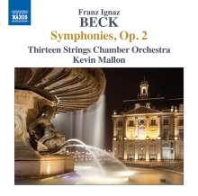 Franz Ignaz Beck (1734-1809): Symphonien op.2 Nr.1-6, CD