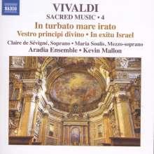 Antonio Vivaldi (1678-1741): Geistliche Musik Vol.4, CD