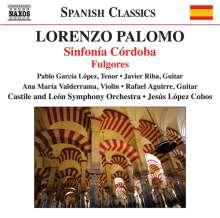 Lorenzo Palomo (geb. 1938): Sinfonia Cordoba für Tenor, Gitarre  & Orchester, CD