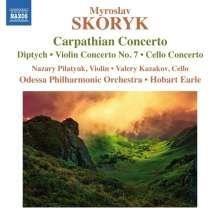 Myroslaw Skoryk (1938-2020): Carpathian Concerto für Orchester, CD