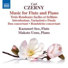 Carl Czerny (1791-1857): Kammermusik für Flöte & Klavier, CD