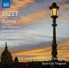"""Georges Bizet (1838-1875): Symphonie C-Dur """"Roma"""", CD"""