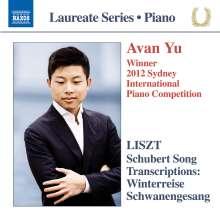 Franz Liszt (1811-1886): Transkriptionen nach Schubert-Liedern, CD