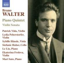 Bruno Walter (1876-1962): Klavierquintett, CD