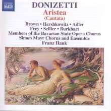 """Gaetano Donizetti (1797-1848): Kantate """"Aristea"""", CD"""