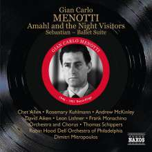 Gian-Carlo Menotti (1911-2007): Amahl and the Night Visitors, CD