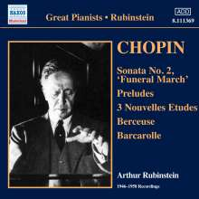 Artur Rubinstein - Chopin-Recordings 1946-1958, CD