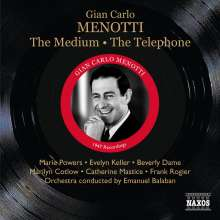 Gian-Carlo Menotti (1911-2007): The Medium, CD