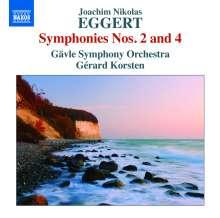 Joachim Nikolas Eggert (1779-1813): Symphonien Nr.2 & 4, CD