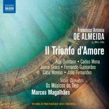 Francisco Antonio de Almeida (1702-1755): Il Trionfo d'Amore, 2 CDs