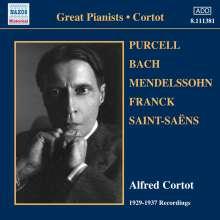 Alfred Cortot - 1929-1937 Recordings, CD
