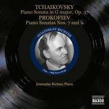 Peter Iljitsch Tschaikowsky (1840-1893): Klaviersonate op.37, CD
